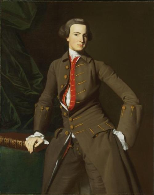 Benjamin Pickman by John Singleton Copley c. 1760